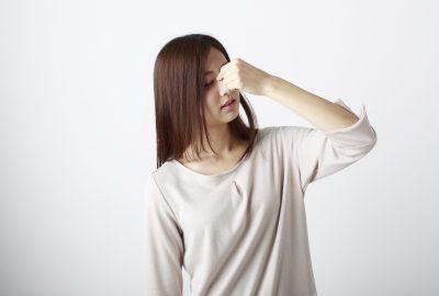鼻の緊張とストレス
